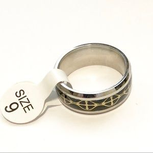Crosses Ring, Size 9